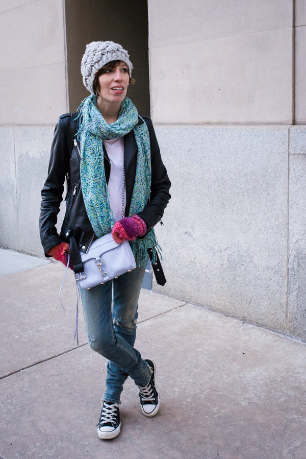 citizen-for-humanity-skinny-jeans-slashed-knee-iro-leather-jacket-rebecca-minkoff-crossbody-spring-scarf-2