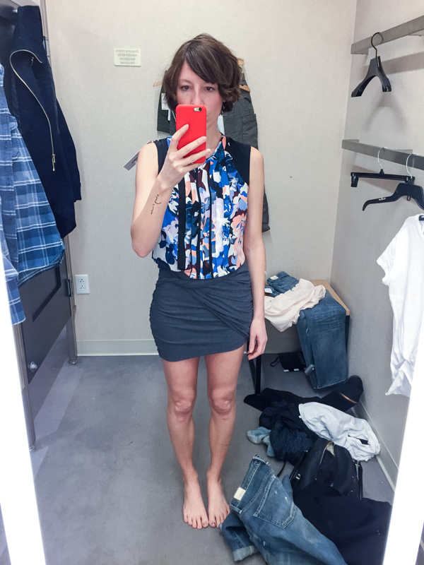 dressingroomselfie-james-perse-skirt-elizabeth-and-james-top
