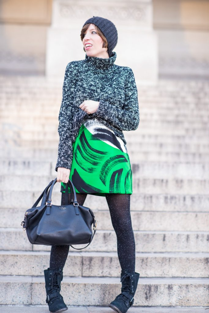 vince-camuto-shift-dress-eileen-fisher-cropped-sweater-combat-boots-kate-spade-black-satchel