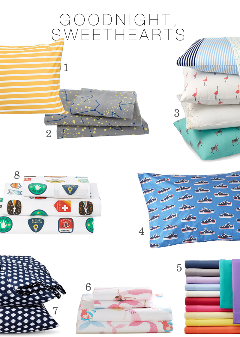modern cool kids bedding that parents like too done and done - Kid Sheets