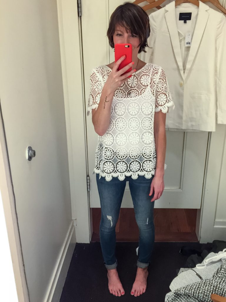 banana_republic_distressed_skinny-jeans_white_lace_tee