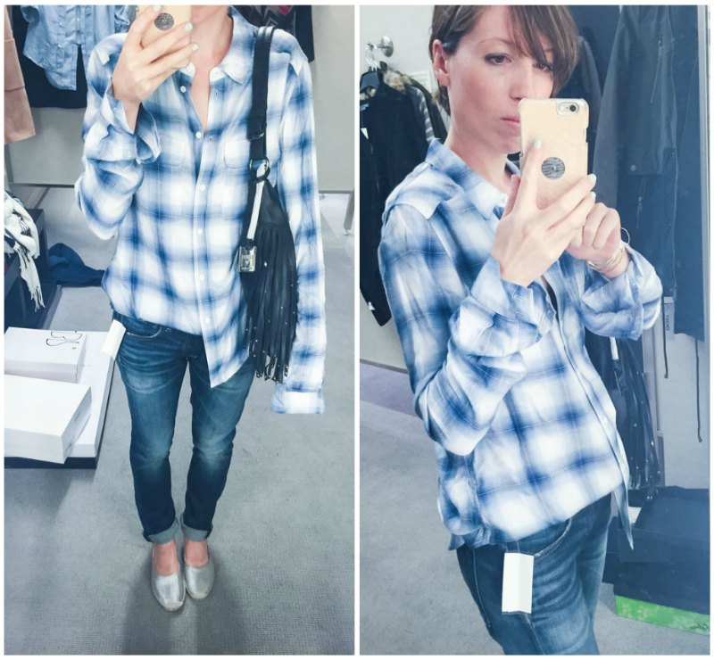 blueplaidshirtcollage2