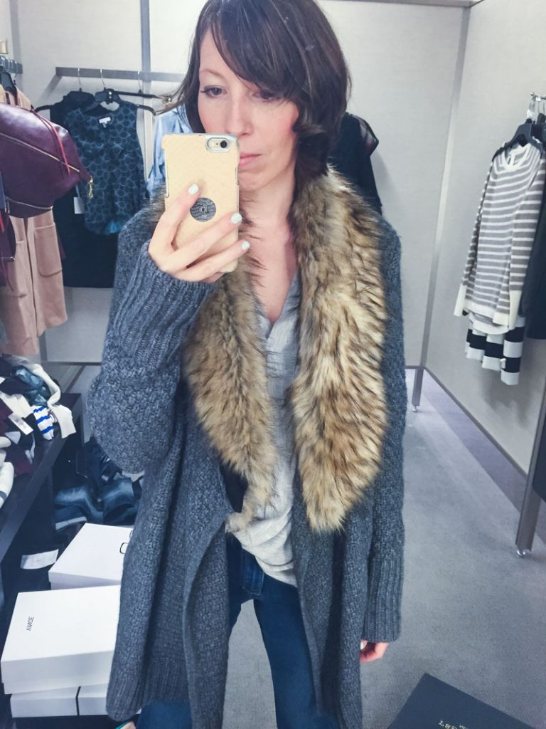 joie-faux-fur-trimmed-cardigan