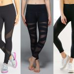 Workout Style:  Mesh Panel Leggings