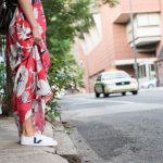Dramatic Maxi Dresses And Sneakers (two ways)