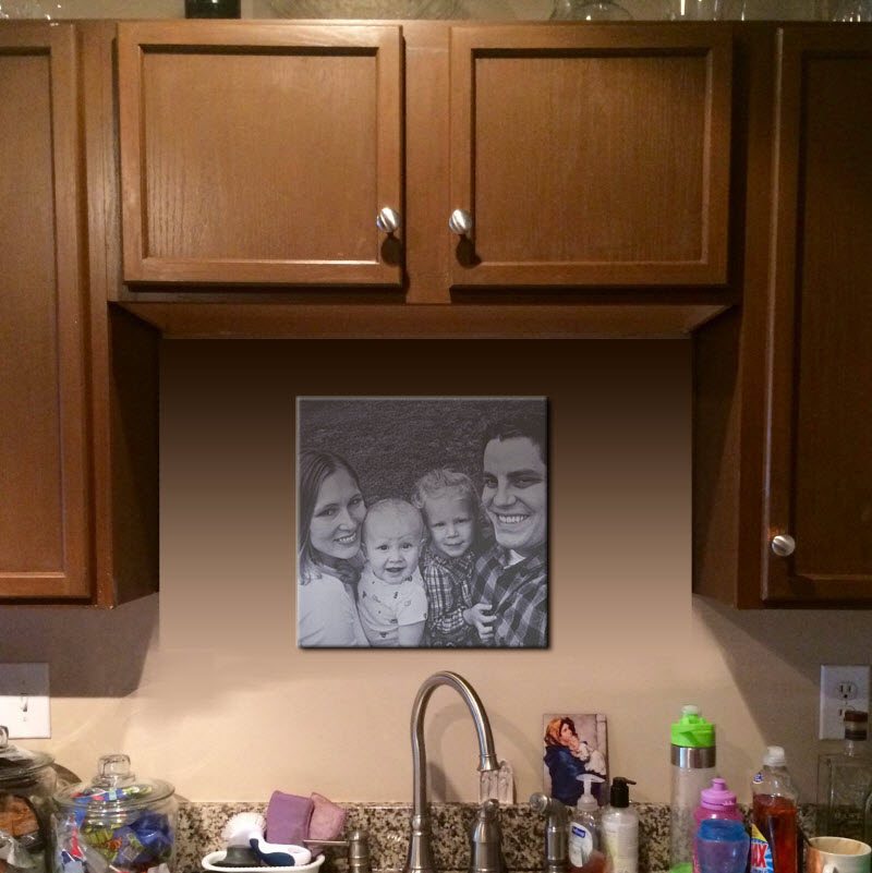 No Window No Problem How To Decorate Behind Your Kitchen Sink