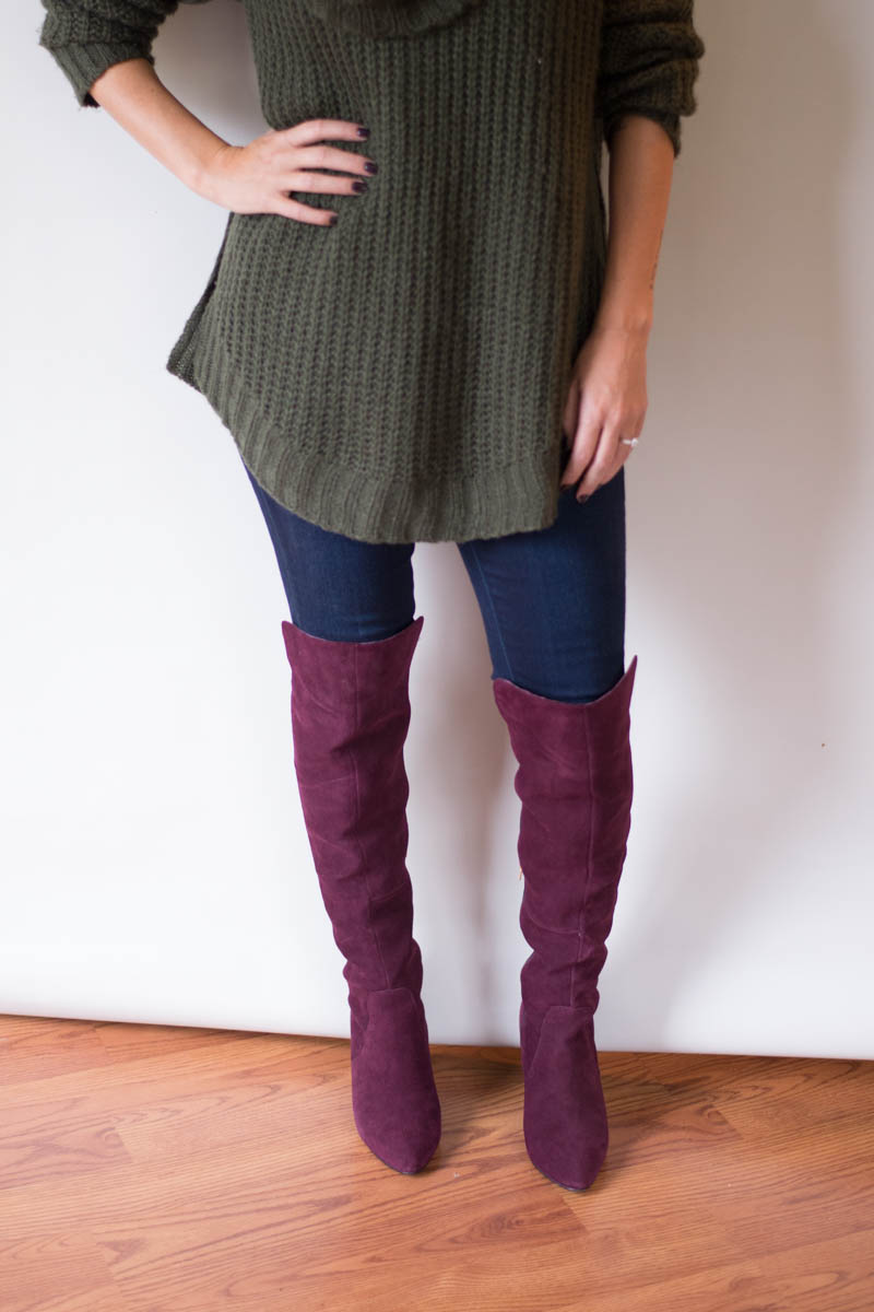 Wide Calf Boots Over The Knee - Cr Boot