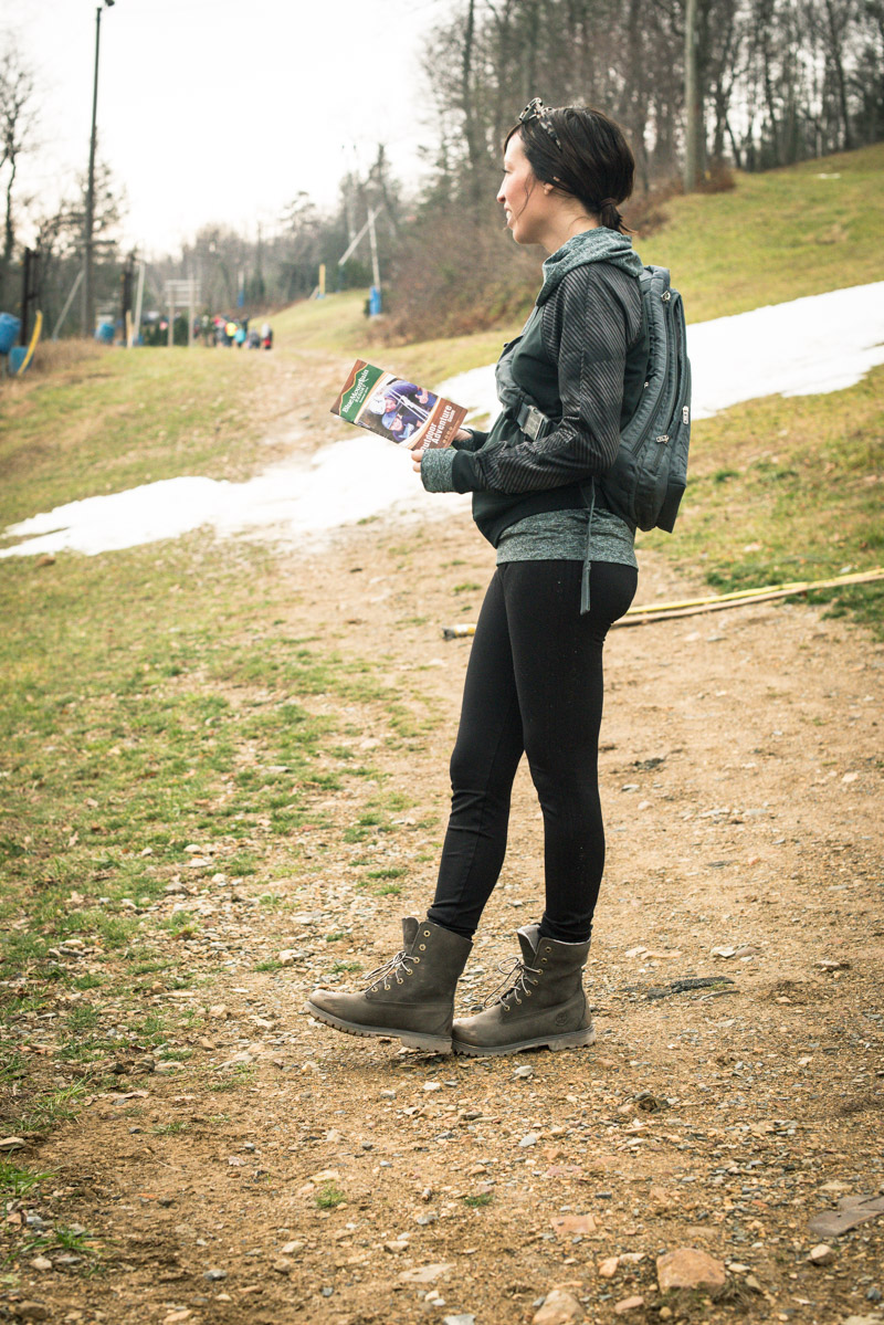 How to wear skinny jeans with hiking boots