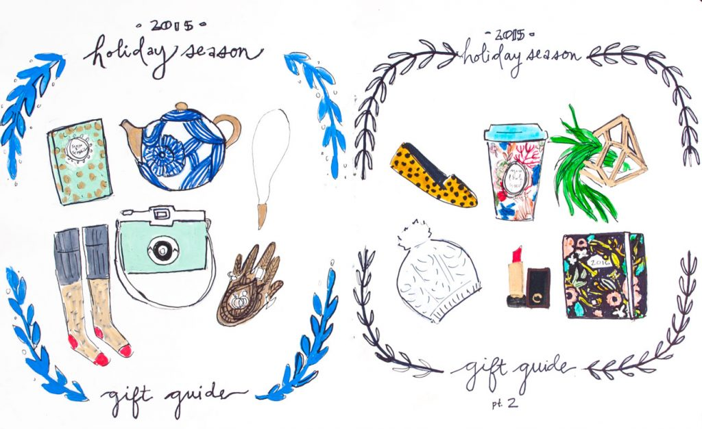 Illustrated Holiday Gift Guide
