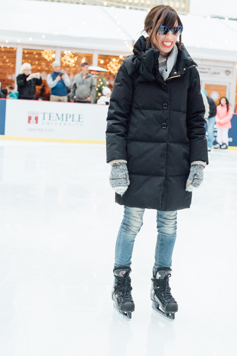 kate spade ny and outdoor ice skating what to wear ice skating