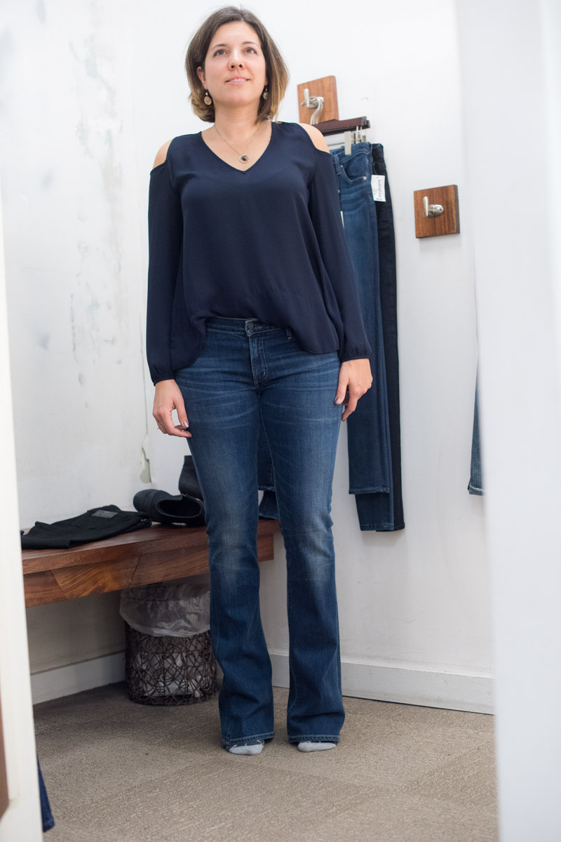 Straight Cut Jeans For Women