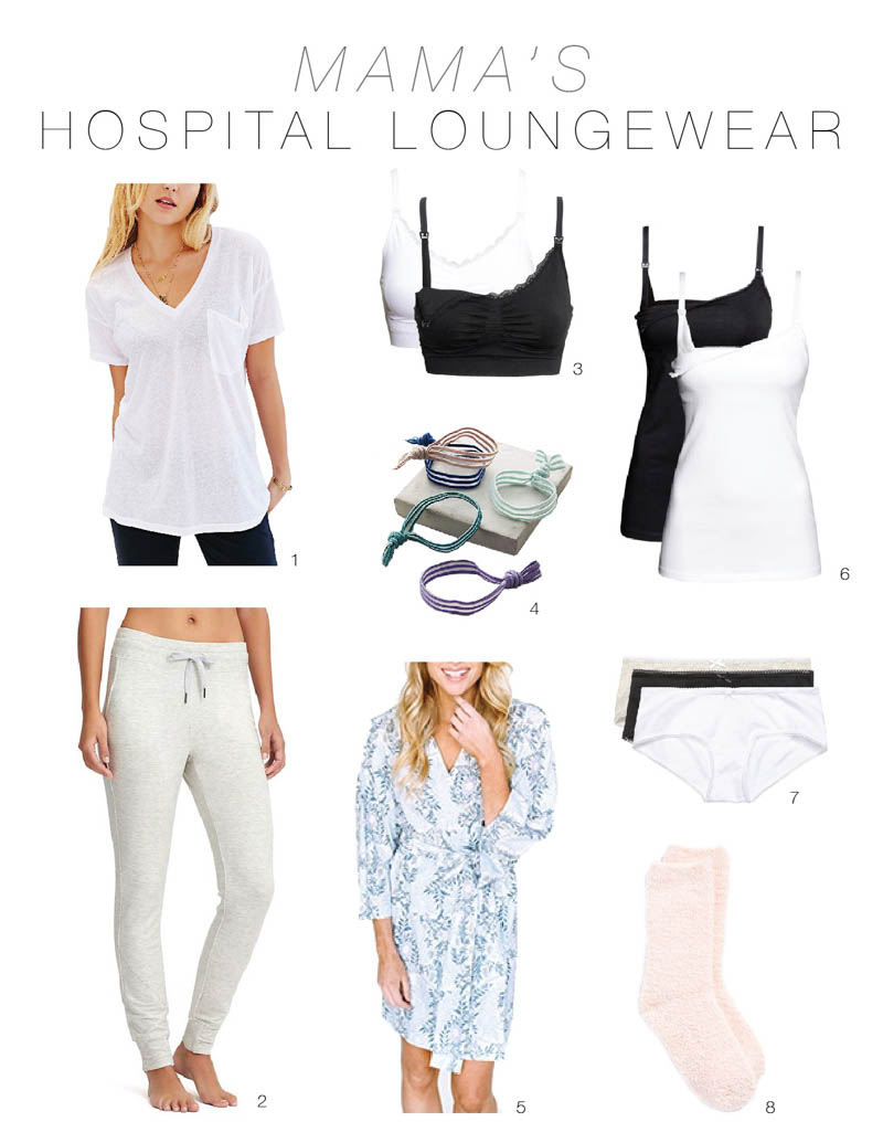 What to pack wear for that post baby hospital stay the mom edit