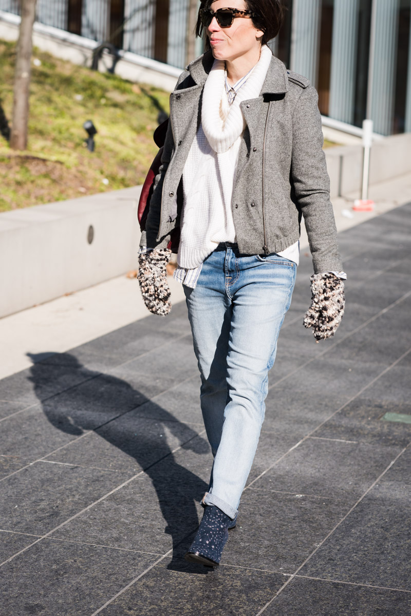 Boyfriend Jeans, Statement Ankle Boots And A Layering Trick - The ...