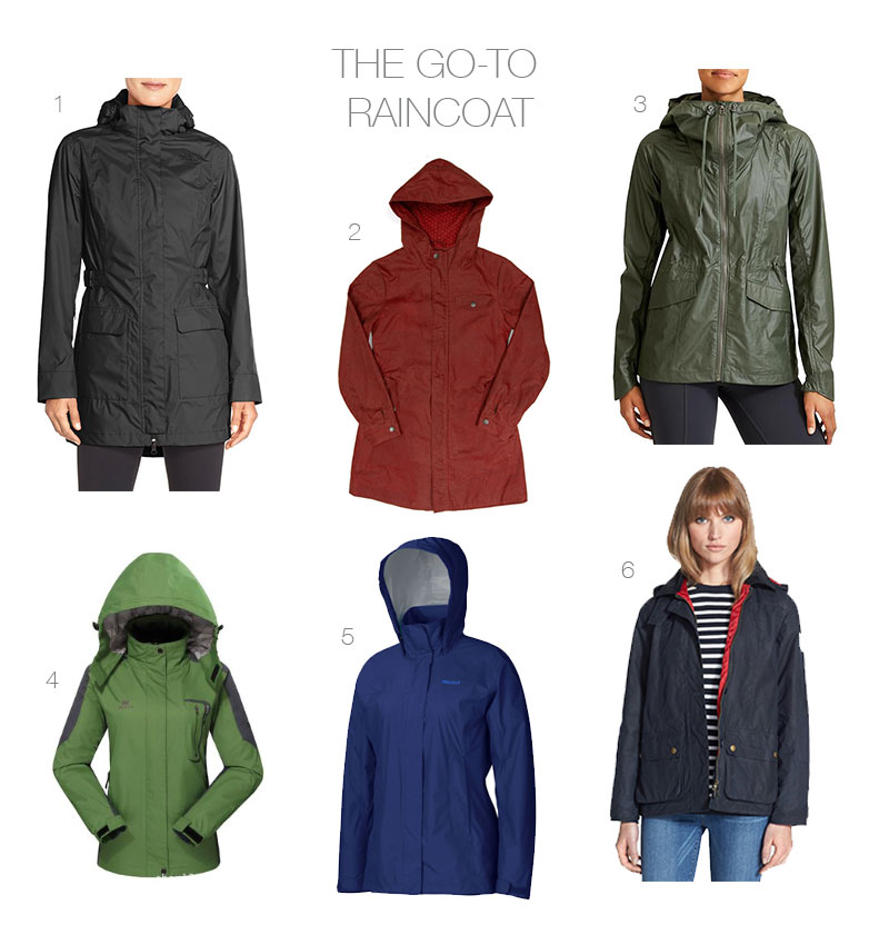 The Best Raincoats (And Functioning Alternatives For When You're