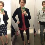 LOFT Dressing Room Selfies – Work Wear Edition