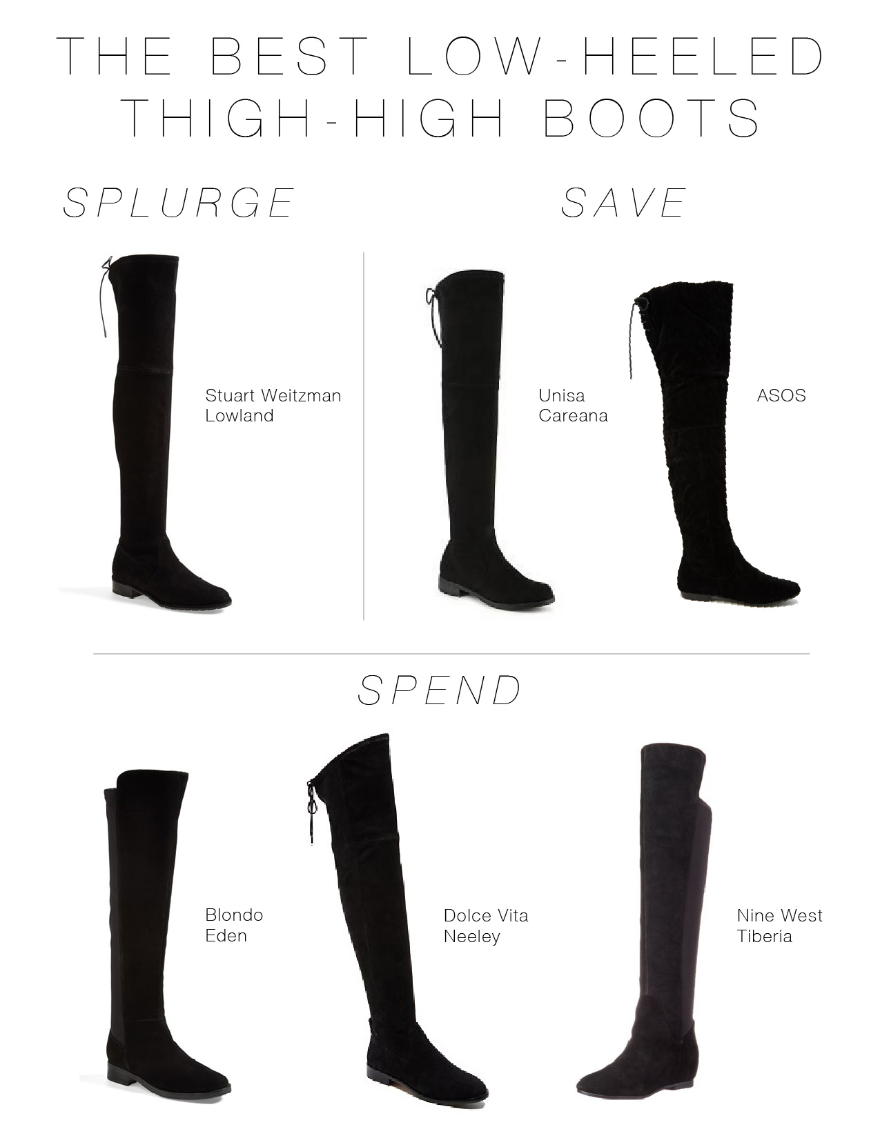 The Best Thigh-High Boots At Every Price Point - The Mom Edit