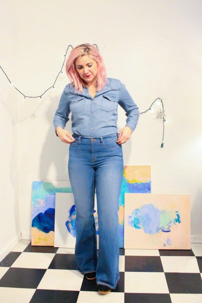 denim outfit denim on denim final