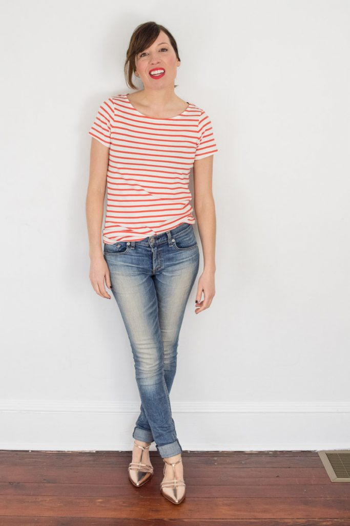 short-sleeve-red-striped-tee
