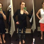 Banana Republic Dressing Room Selfies – Work Wear