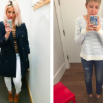 Gap Dressing Room Selfies!