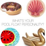 What's Your Pool Float Personality?