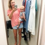 Nordstrom Anniversary Sale – the under $100 budget buys (#dressingroomselfies with a  6 month old)
