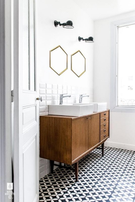 Bathroom Mirror Gold statement mirrors for your bathroom