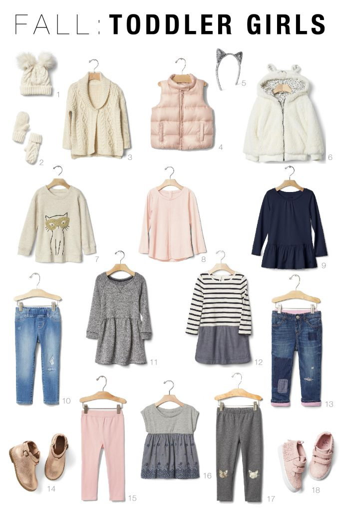 2016 Fall Toddler Girls Capsule Wardrobe-01