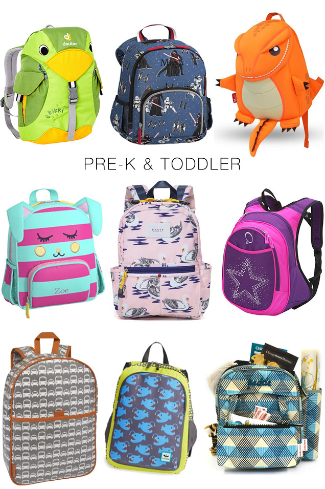 Best Back to School Backpacks from Preschool to College - The Mom Edit
