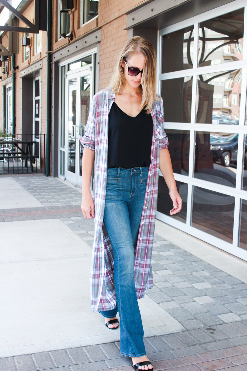 plaid-top-with-flare-jeans