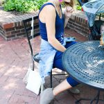 Easy Early-Fall Outfit Idea:  Jumpsuits, Booties And Denim Jackets
