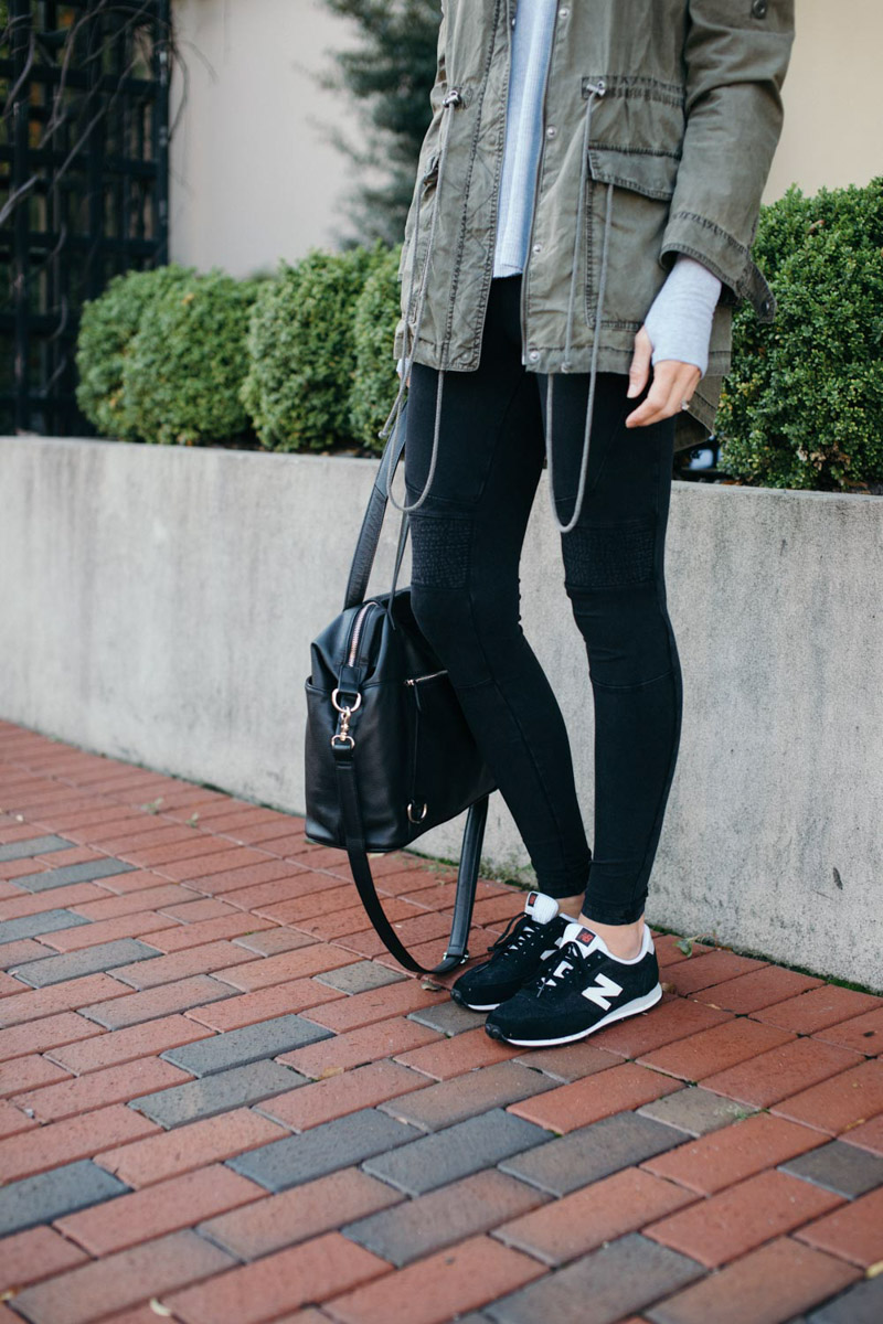 how to style new balance sneakers