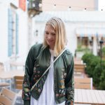 Bomber Jackets. An Easy, Statement-Making Transitional Piece