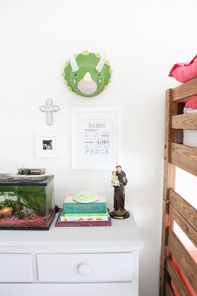 Vintage land of nod kids room