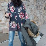 Styled, Three Ways: Free People's Oversized, Floral Sweatshirt