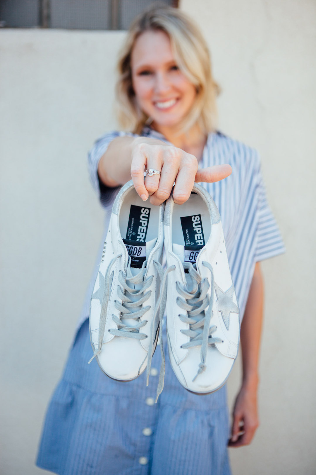 We Tried It: Golden Goose Deluxe Brand Sneakers | The Mom Edit ...