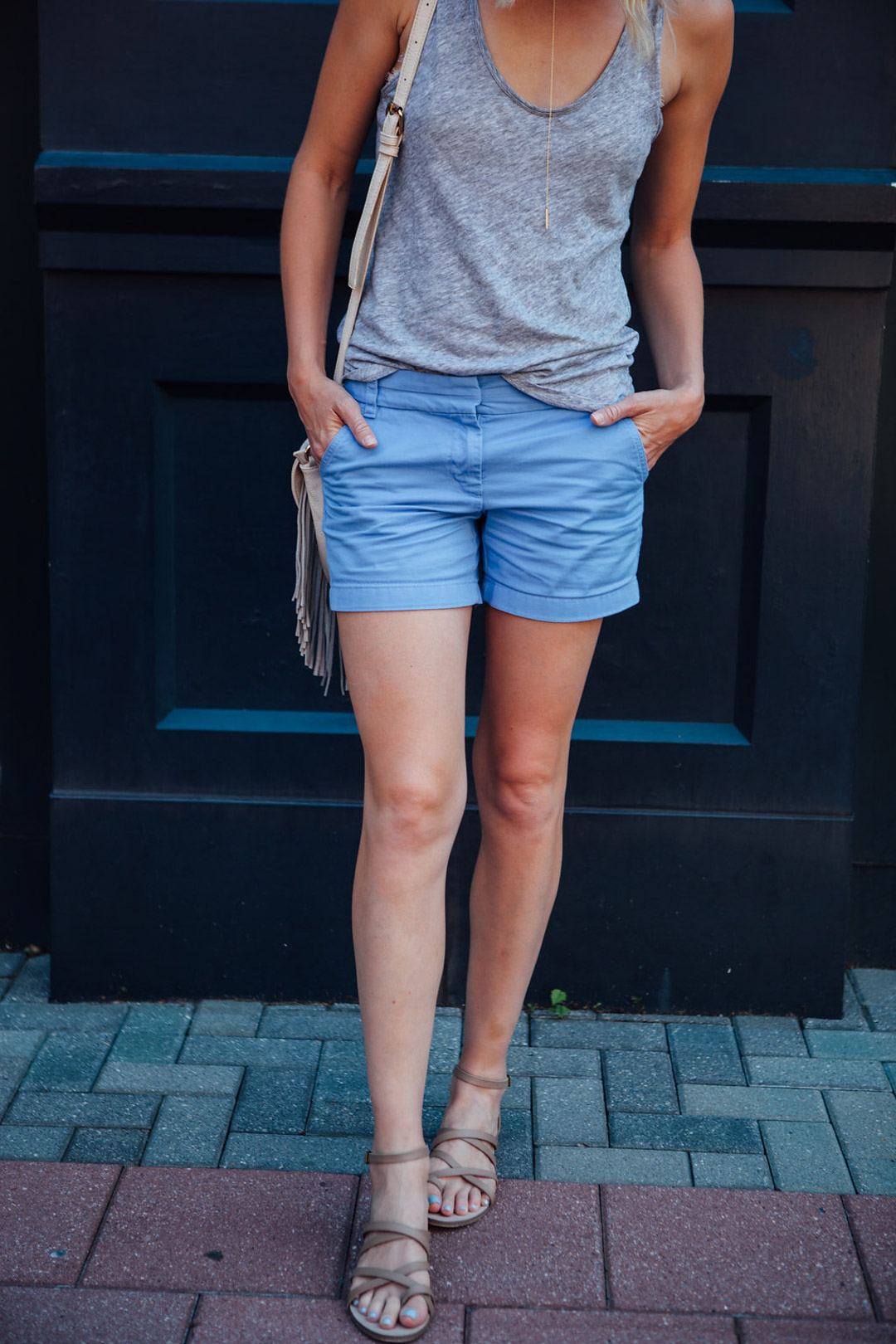 styling mom shorts