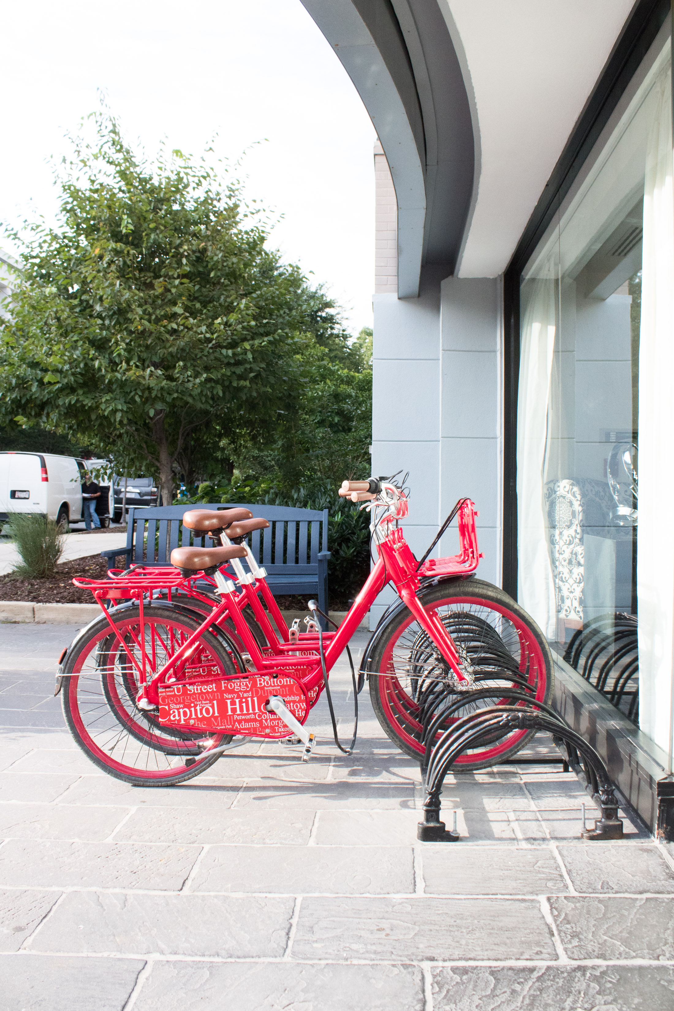 hotels with free bikes in washinton dc