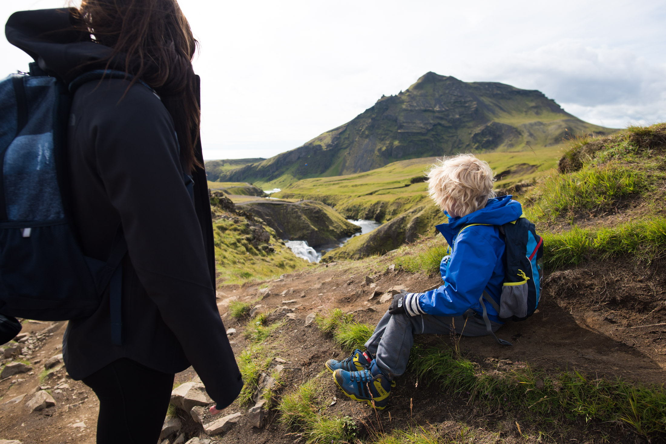 best hike for kids in iceland