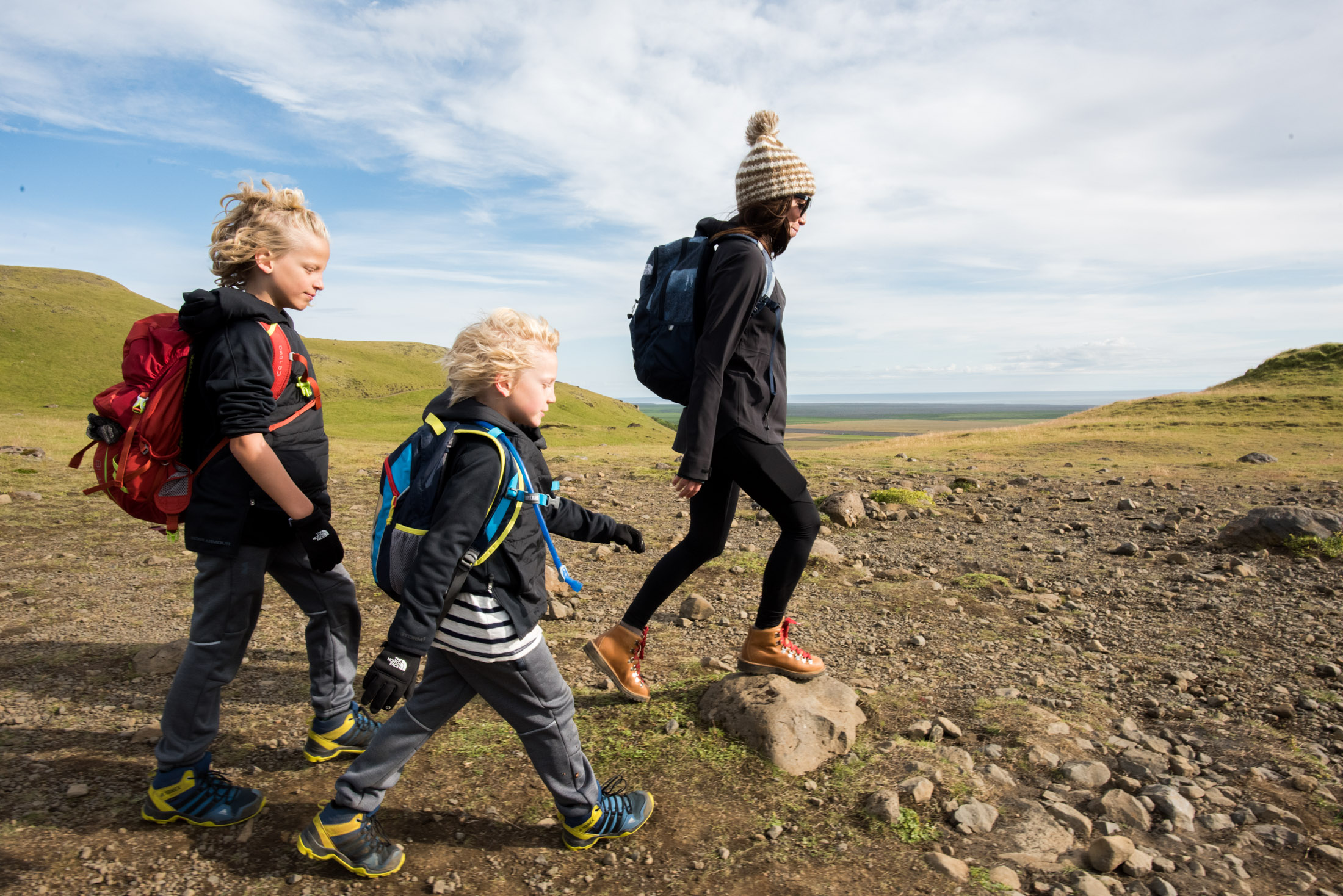 what to wear hiking in iceland