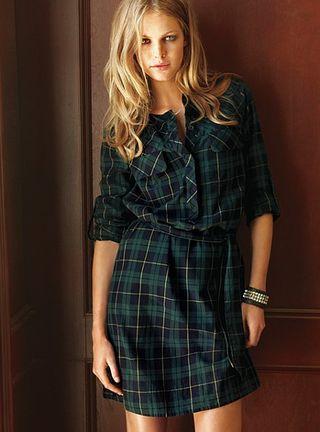 Victoria's Secret Flannel Mini Dress