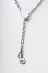 Colleen Berg Fingerprint Lariat Necklace