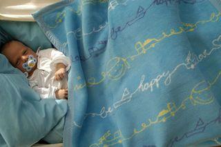 David Fussenegger Baby Blanket