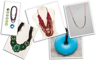 Leather and Cord Necklaces
