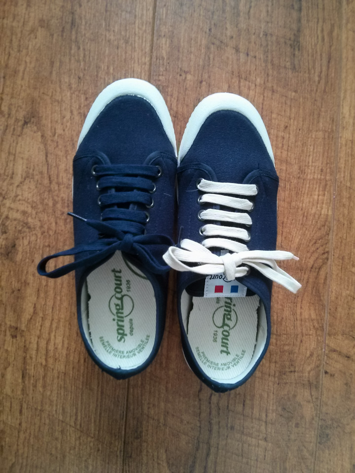 SuperGa and Spring Court Sneakers
