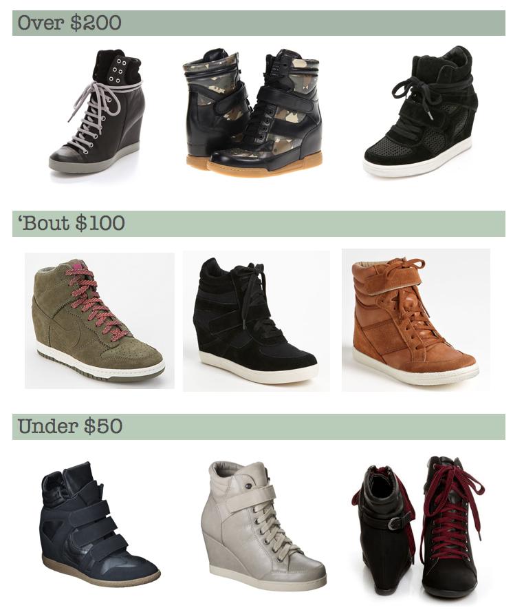 Sneakerwedges
