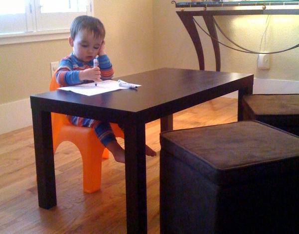 Toddler Parsons Desk
