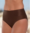 high waisted shaper bikini bottom