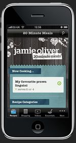 Jayme Oliver 20-Minute Meals iPhone App