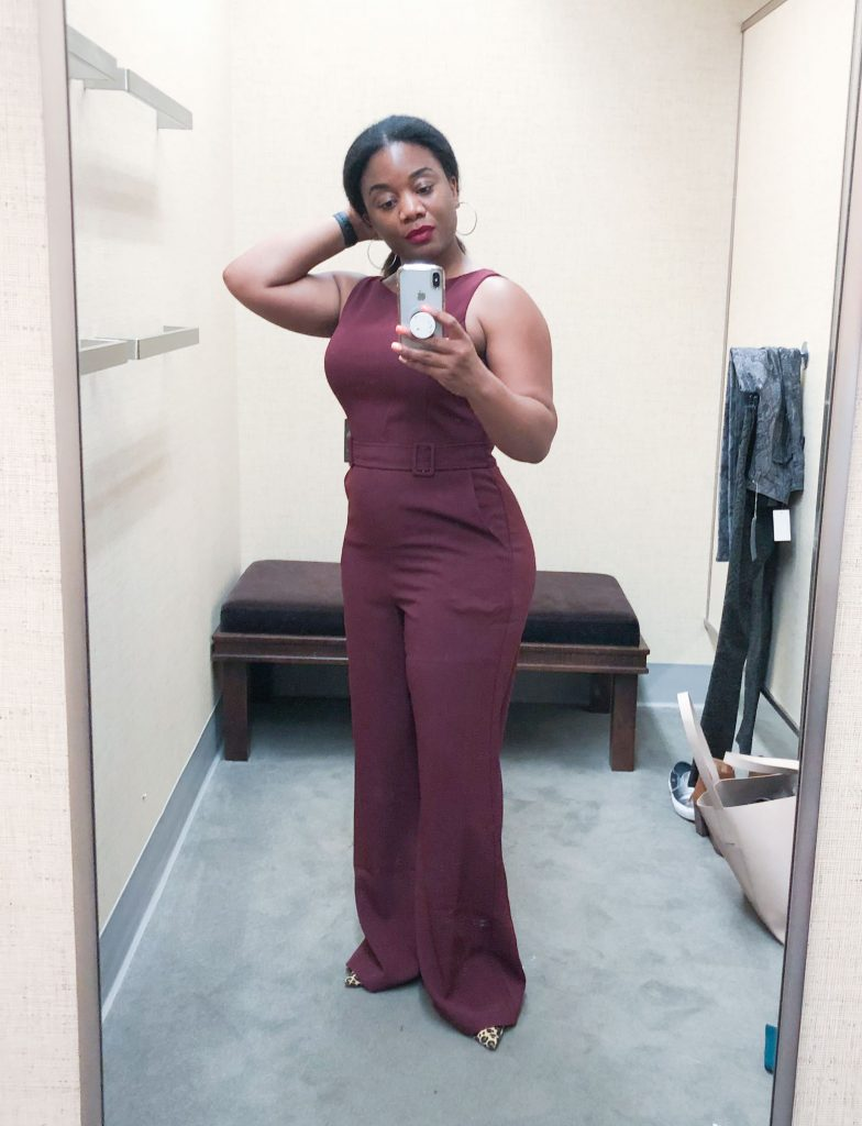 A gorg jumpsuit for fall is an #NSale must-have for dressing up. Tiarra's trying ALL the dresses & skirts. Time to get fancy.